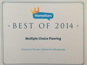 HomeStars Best of 2014